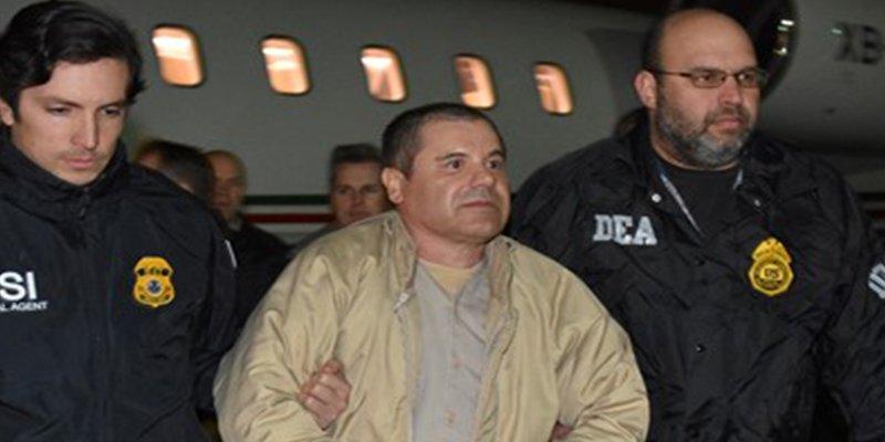 'El Chapo' rompe a llorar al recibir la visita sorpresa de sus hijas