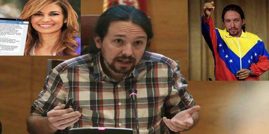 Pablo Iglesias dice que ya no quiere darle azotes a Mariló 'hasta que sangre' ni hacerse chavista