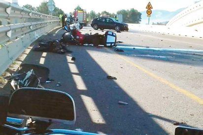 Dos motoristas sufren la amputación de una pierna tras ser arrollados por una conductora borracha