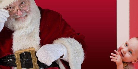 Un hombre, detenido por decir a los niños que Papá Noel no existe