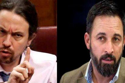 """Carta de Santiago Abascal a Pablo Iglesias: """"Lo tienes crudo"""""""