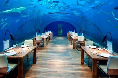 Hoteles y resorts bajo el agua: Conrad Maldives Rangali Island, Rangali Island, Maldivas