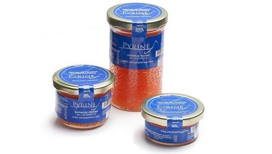 "Caviar de trucha 200gr"""