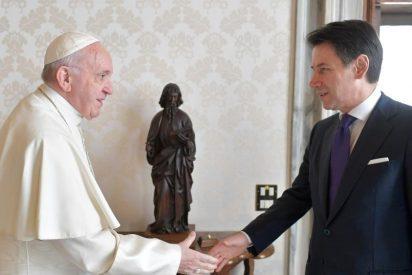 El Papa Francisco recibió al Primer Ministro italiano en el Vaticano