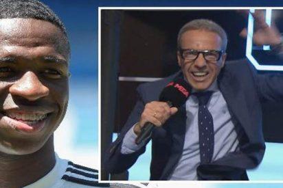 """Cristóbal Soria se descojona de Vinicius en Twitter: """"Neymar de Hacendado"""""""