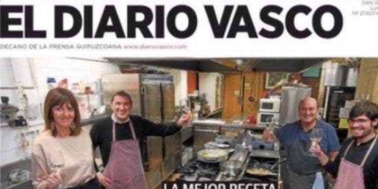 El Diario Vasco (Vocento) pone al exetarra Otegi en la mesa de la Navidad y humilla a sus propios dueños