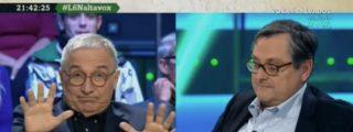 Sardá tira de brocha gorda contra VOX, Marhuenda le aclara que no son 'fachas' y los progres se incendian en Internet