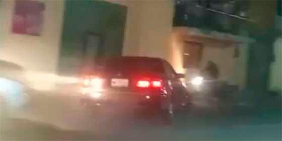 Vídeo impactante: un borracho al volante atropella a 6 personas y golpea 10 coches