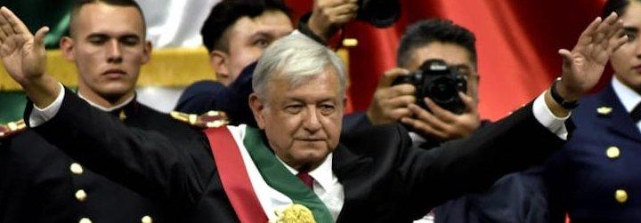 México: López Obrador estrena la presidencia con una manifestación de 2.000 personas