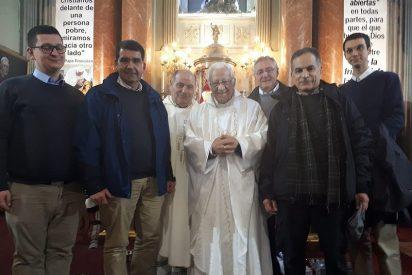 La iglesia de San Antón, punto de acogida y celebración del Encuentro europeo de jóvenes de Taizé