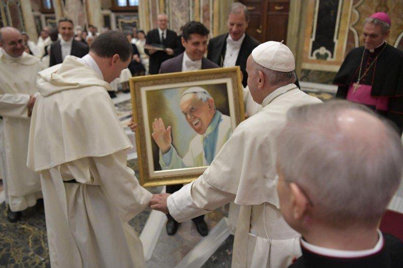 """El Papa, a los mercedarios: """"No pierdan el primer amor"""""""