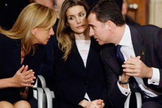 La cruel venganza de doña Letizia contra la infanta Cristina para enseñarle quién manda