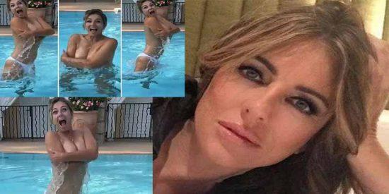 La bella Elisabeth Hurley se desnuda en vídeo en Instagram a sus 53 años