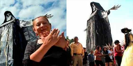 """Muere Enriqueta Vargas """"La Madrina"""", líder del culto a la Santa Muerte en México"""