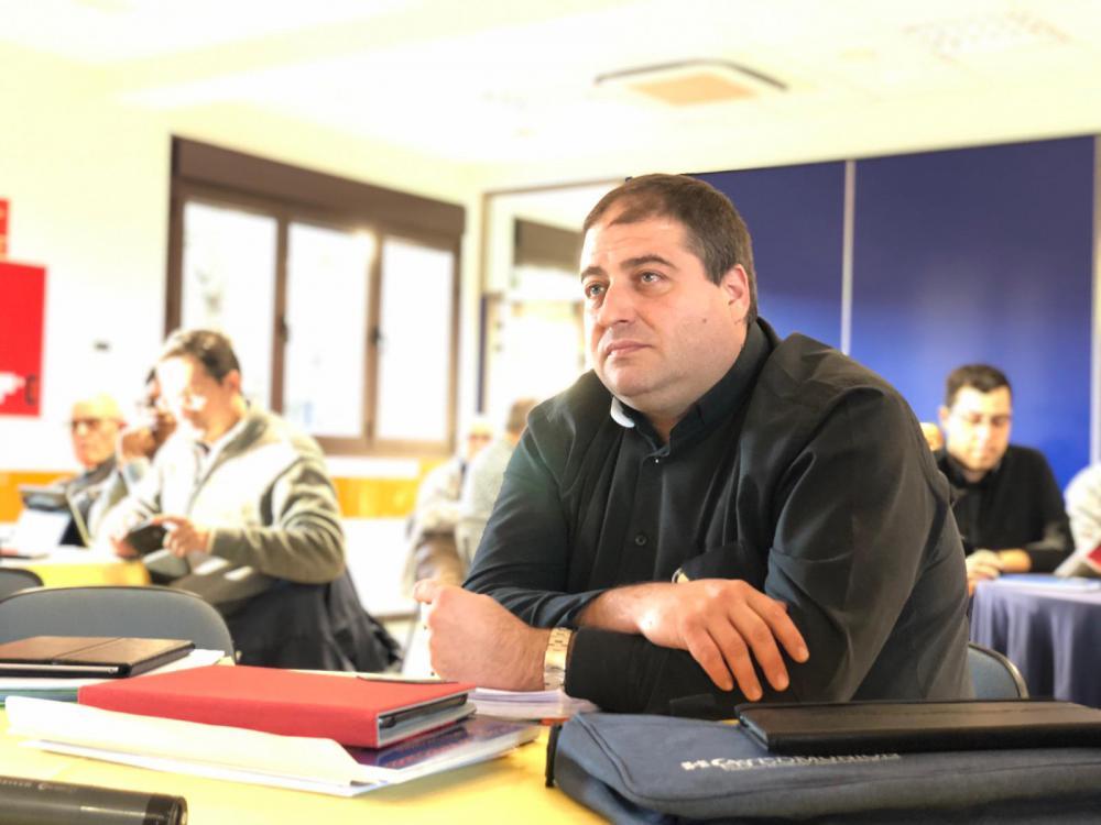 Jorge Iván Ruiz, elegido Provincial de las Escuelas Pías Betania