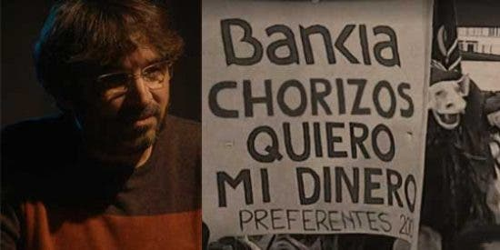 Évole machaca con el cuento de Bankia y el PP como epicentro de la crisis y olvida' a ZP y los pufos los bancos que afectaron a la izquierda y a Cataluña
