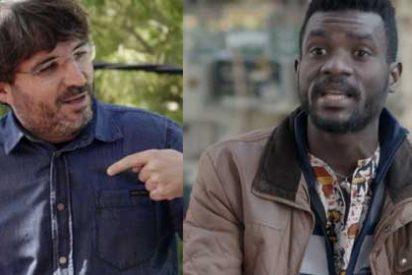 ¡Vaya pillada, Jordi! El inmigrante que criticó en 'Salvados' a VOX es en realidad un candidato podemita