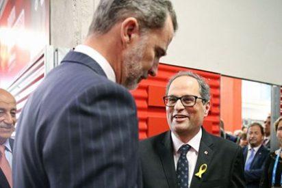 El inesperado golpe del rey Felipe VI en Cataluña que deja el boicot de Torra por los suelos