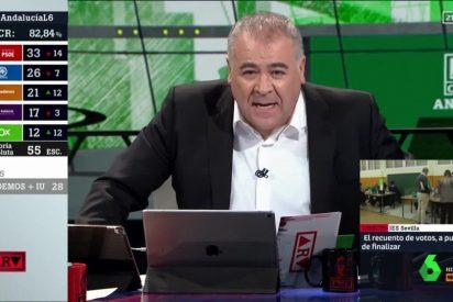 Ferreras desquiciado porque VOX 'adelanta' el fichaje de Jorge Javier Vázquez por laSexta