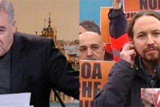 Iglesias insulta a Ferreras en su cara acusándole de tener a Inda como lanzador de VOX, y el presentador calla cobardemente