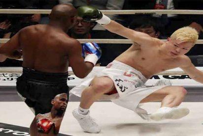Floyd 'The Money' Mayweather: 3 horas tarde por estar de fiesta, burlas en el ring y KO en 138 segundos
