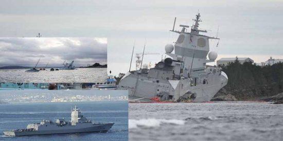 "Armada Española: ""Un error humano hundió la fragata noruega de Navantia"""