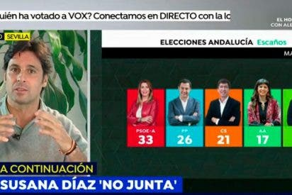 """Fran Rivera, encantado con la llegada de Vox a Andalucía: """"Los cambios siempre son buenos"""""""