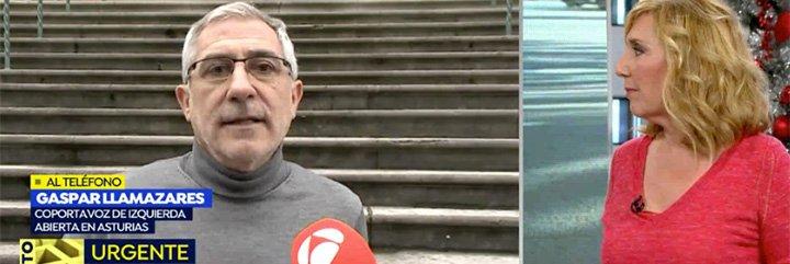 """La inquina entre Llamazares y Garzón termina en 'navajazos' públicos: """"¡Muy brillante y muy gracioso!"""""""