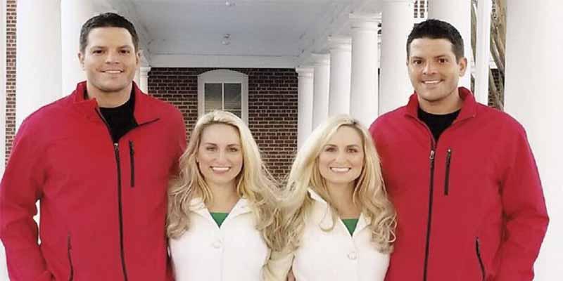 Hermanas gemelas idénticas se casan con hermanos gemelos idénticos y vas flipar cuando veas a sus hijos…