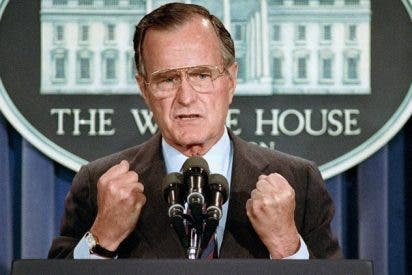 Desvelan las últimas palabras de George H.W. Bush instantes antes de morir
