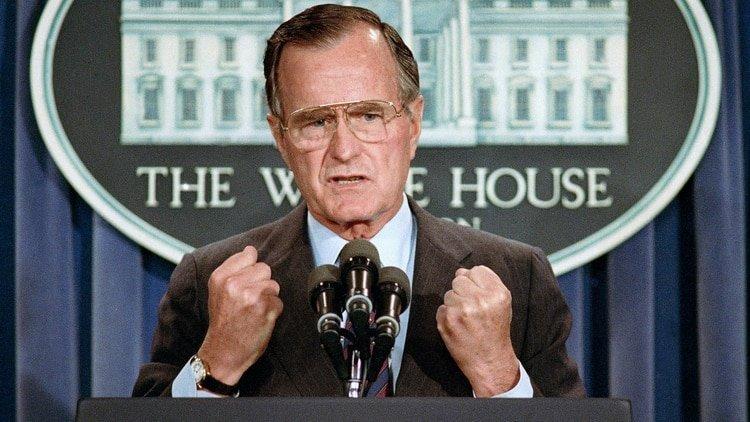 Las palabras de Donald Trump al recién fallecido George H.W. Bush