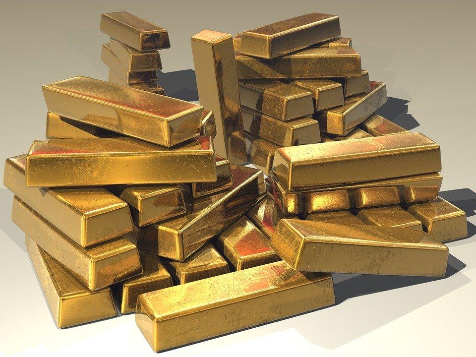 Los futuros del oro bajaron durante la sesión asiática 1.240,45 $ la onza troy