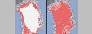 El hielo 'eterno' de Groenlandia se derrite a la mayor velocidad de los últimos tres siglos
