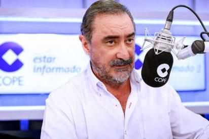 """Carlos Herrera: """"El Gobierno de España no puede ir a Barcelona si no es escoltado por un ejército romano"""""""