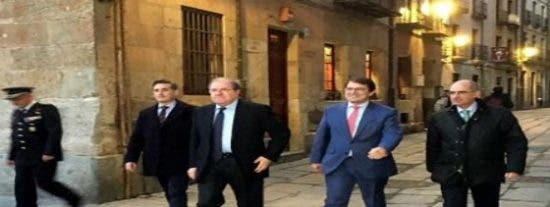 """Fernández Mañueco: """"queremos una Castilla y Leon más fuerte y leal al proyecto de construcción de España"""""""