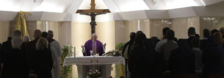 Las homilías de Francisco durante las Misas en Santa Marta del 2018