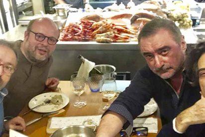Carlos Herrera y tres colegas inician una 'huelga de hambre como la de los golpistas'