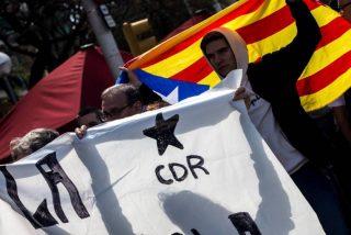 El cobarde llamamiento de los CDR para reventar por las bravas el Consejo de Ministros el 21-D