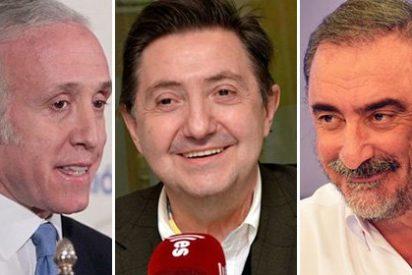Los podemitas utilizan a Herrera, Losantos e Inda para espolear a sus votantes, desesperados ante la hecatombe de las primarias
