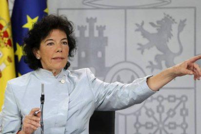 Metepatas e inepta: así es la atolondrada y propagandista ministra Celaá