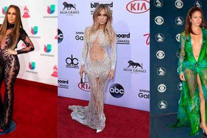 '¡Diosa!': Jennifer López con el modelito con el que ni Kim Kardashian se atreve