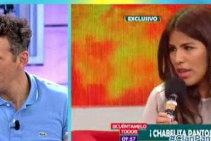 El 'hachazo' de Joaquín Prat a Chabelita con palabrota incluida
