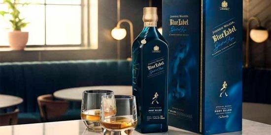 Johnnie Walker Blue Label Ghost & Rare Port Ellen