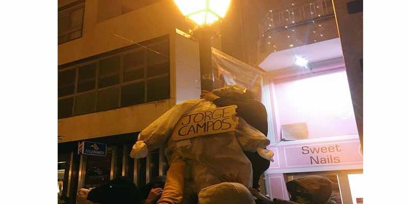 JORGE CAMPOS (VOX) DENUNCIA A LOS SEPARATISTAS DE ARRAN POR SIMULAR SU AHORCAMIENTO