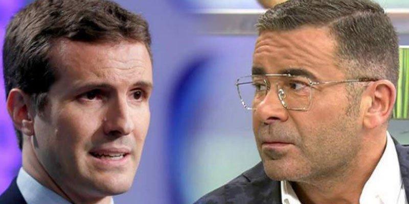 """Jorge Javier arremete contra Pablo Casado: """"40 años después de Franco sale diciendo que el aborto no es un derecho"""""""