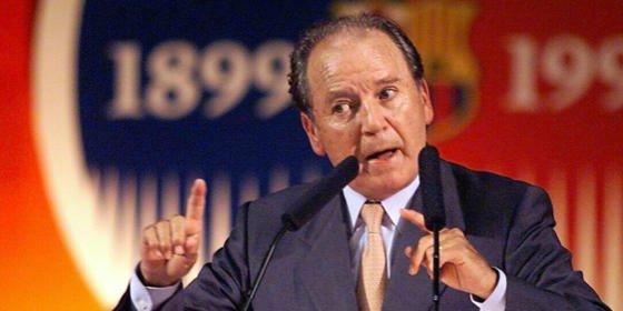 Muere Josep Lluís Núñez, a los 87 años de edad
