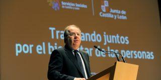 """Herrera """"saca pecho"""" por situar los servicios sociales a la cabeza en España"""