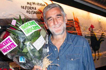 Juanma López Iturriaga, presentador de la gala 'Inocente, Inocente', victima de una inocentada