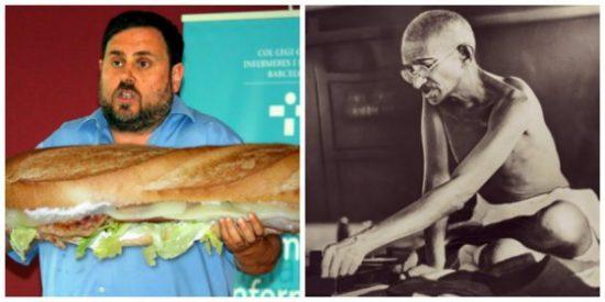 Esperpento de campeonato en TV3: comparan la huelga de hambre de los golpistas con la que hizo Gandhi