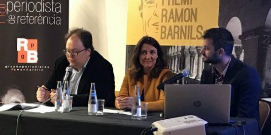 Los premios Barnils sirven para premiar a odiadores separatistas por fomentar el victimismo contra España